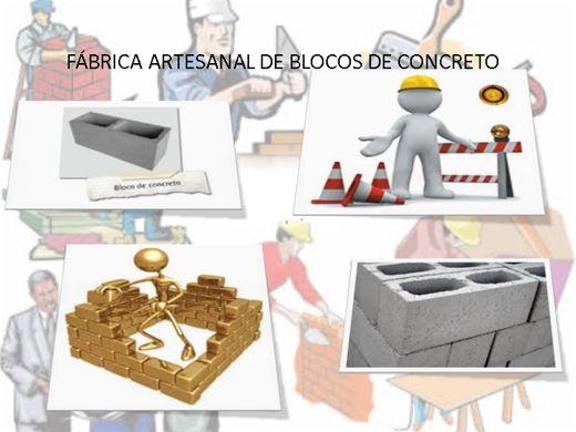 Curso Online de FABRICANDO BLOCOS DE CONSTRUÇÃO ARTESANAL