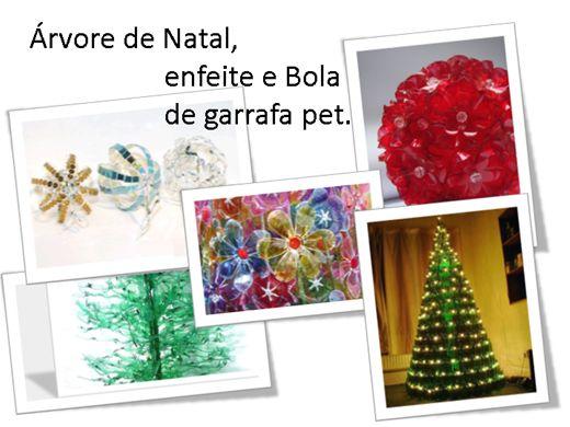 Curso Online de ÁRVORE DE NATAL, BOLAS E ENFEITES DE GARRAFA PET