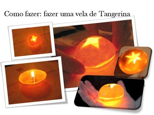 Curso Online de APRENDA A FAZER VELAS COM TANGERINA