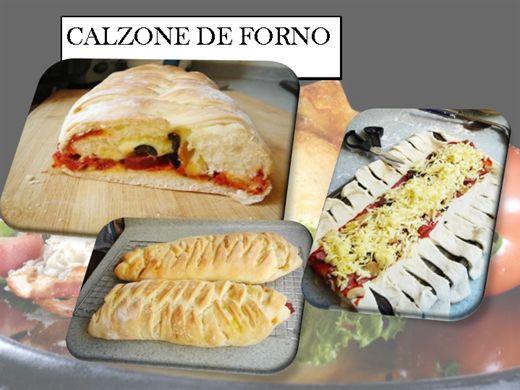 Curso Online de CALZONE DE FORNO