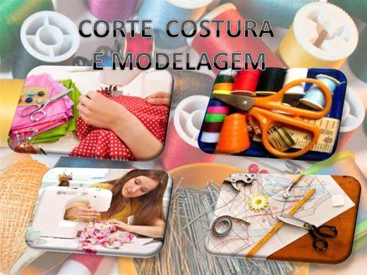 Curso Online de CORTE E COSTURA E MODELAGEM PROFISSÃO