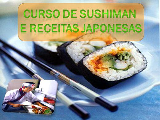 Curso Online de SUSHIMAN E RECEITAS JAPONESAS