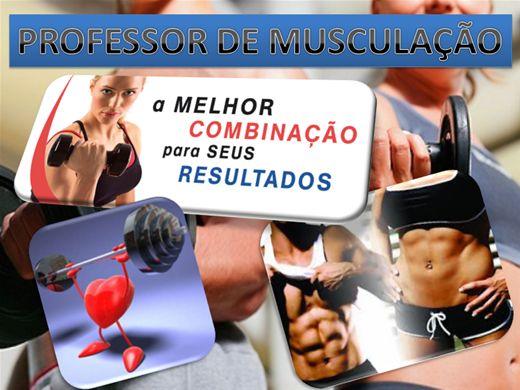 Curso Online de PROFESSOR DE MUSCULAÇÃO