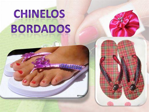 Curso Online de CHINELOS BORDADOS PERSONALIZADOS