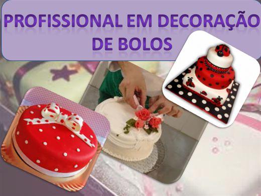 Curso Online de DECORAÇÃO PROFISSIONAL DE BOLOS