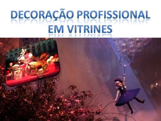 Curso Online de DECORAÇÃO PROFISSIONAL EM VITRINES