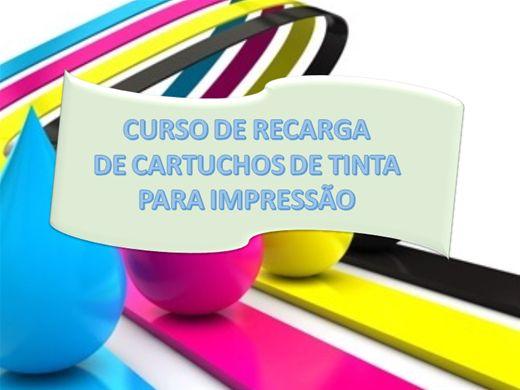 Curso Online de RECARGA DE CARTUCHOS DE IMPRESSÃO PROFISSIONAL