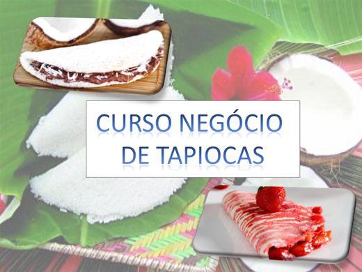 Curso Online de NEGÓCIO  DE TAPIOCAS