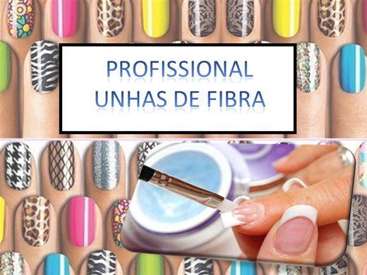 Curso Online de PROFISSIONAL  UNHAS DE FIBRA
