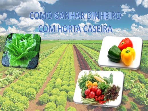 Curso Online de COMO GANHAR DINHEIRO COM HORTA CASEIRA