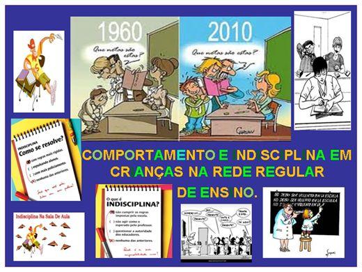 Curso Online de COMPORTAMENTO E INDISCIPLINA EM CRIANÇAS NA REDE REGULAR  DE ENSINO.