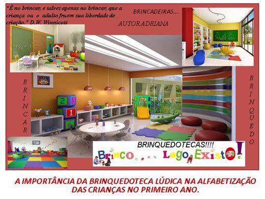 Curso Online de A IMPORTÂNCIA DA BRINQUEDOTECA LÚDICA NA ALFABETIZAÇÃO DAS CRIANÇAS NO PRIMEIRO ANO.