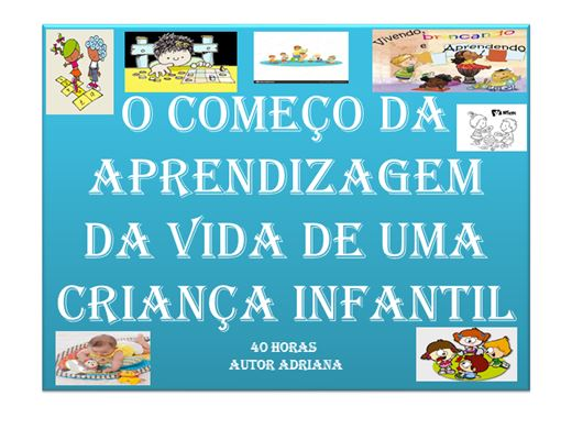 Curso Online de APRENDIZAGEM INFANTIL