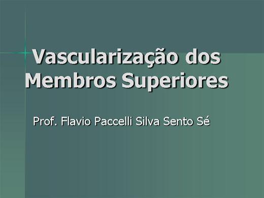 Curso Online de Vascularização dos Membros Superiores