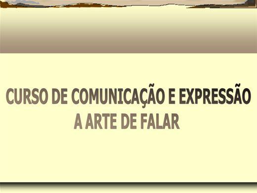 Curso Online de CURSO DE COMUNICAÇÃO E EXPRESSÃO A ARTE DE FALAR