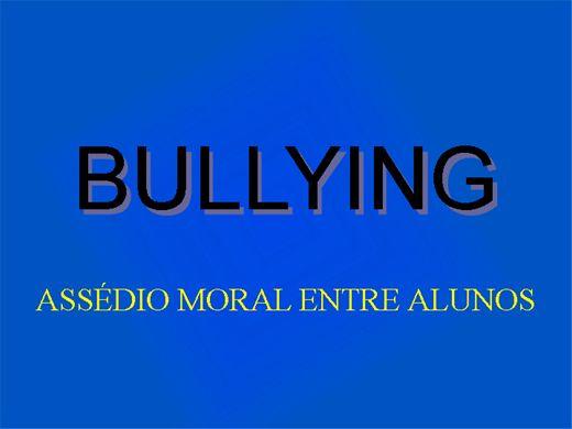 Curso Online de BULLYING ASSÉDIO MORAL ENTRE ALUNOS