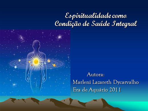 Curso Online de Espiritualidade Como Condição de Saúde Integral
