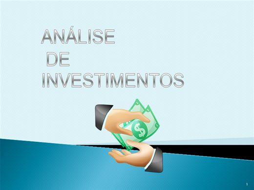 Curso Online de Análise de Investimentos