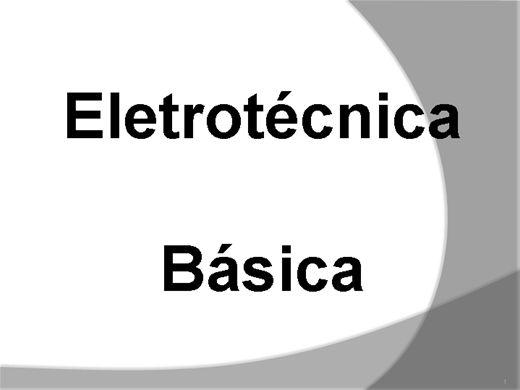 Curso Online de Eletrotécnica Básica