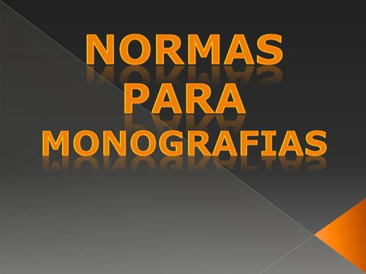 Curso Online de Normas Para Monografias