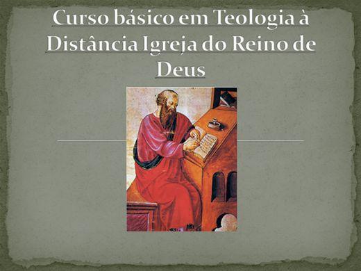Curso Online de curso básico em teologia