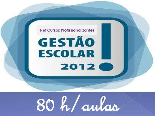 Curso Online de Gestão Escolar 2012