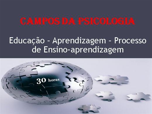 Curso Online de Psicologia como Campo de Conhecimento