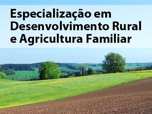 Curso Online de Desenvolvimento Rural e Agricultura Familiar