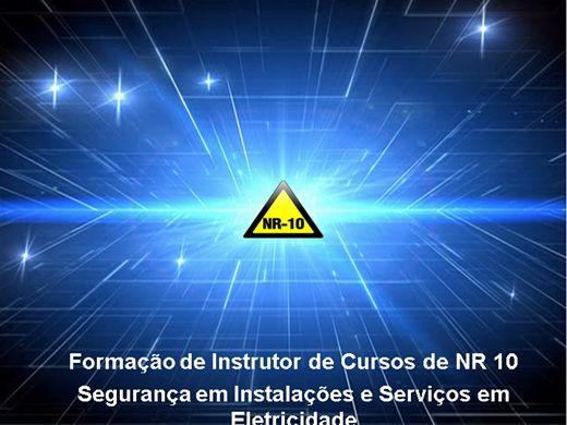 Curso Online de Formação de Instrutor de NR 10 -  Segurança em Instalações e Serviços em Eletricidade