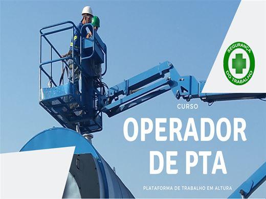 Curso Online de Operador de PTA - Plataforma de Trabalho Aérea
