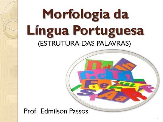 Curso Online de Morfologia da Língua Portuguesa
