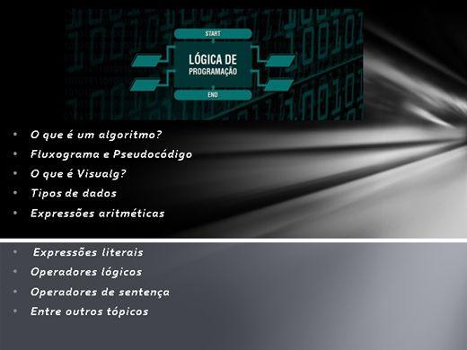Curso Online de Lógica de Programação Básico