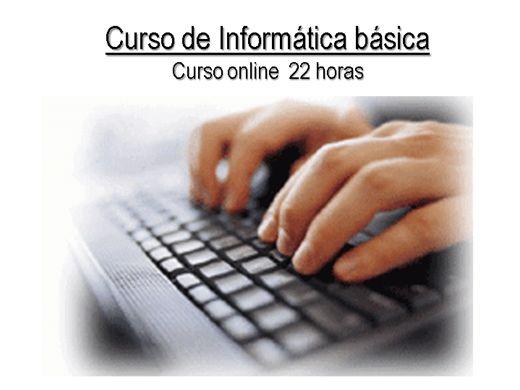 Curso de informatica online