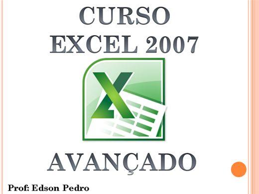Curso Online de Excel 2007 Avançado (Aprenda de uma forma prática)