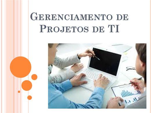 Curso Online de Gerenciamento de Projetos em Tecnologia da Informação