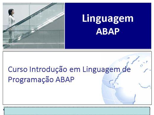 Curso Online de CURSO DE LINGUAGEM ABAP