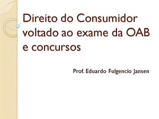 Curso Online de Curso de direito do consumidor para concurso e oab
