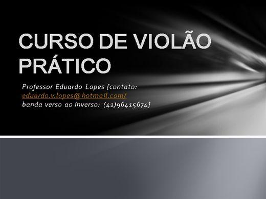 Curso Online de VIOLÃO PRÁTICO