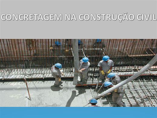 Curso Online de Técnicas de Concretagem na Construção Civil
