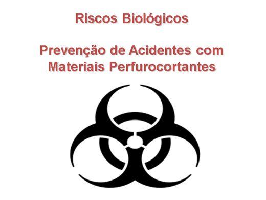 Curso Online de Prevenção de Acidentes com Materiais Perfurocortantes