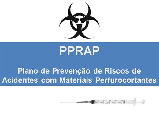 Curso Online de PPRAP - Plano de Prevenção de Riscos de Acidentes com Materiais Perfurocortantes