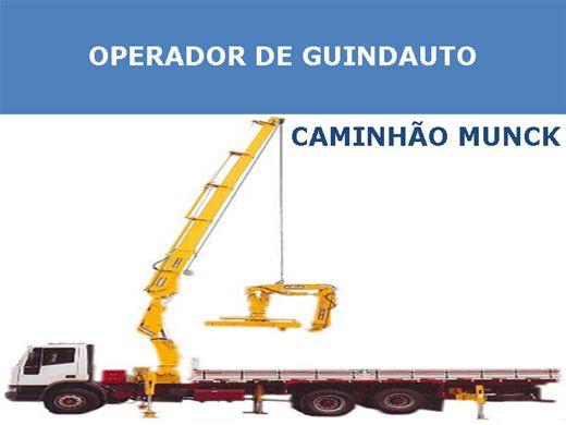 Curso Online de Operador de Guindauto - Caminhão Munck