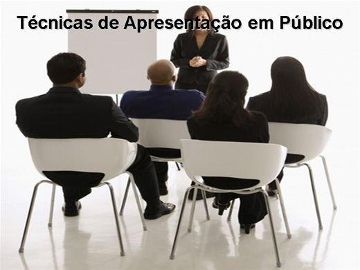 Curso Online de Técnicas de Apresentação em Público