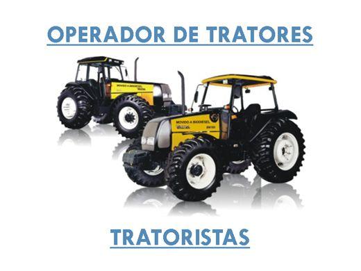 Curso Online de OPERADOR DE TRATORES - TRATORISTAS