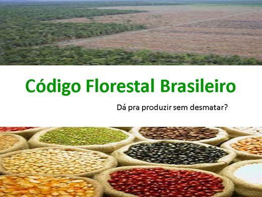 Curso Online de Código Florestal Brasileiro - Produção e Preservação