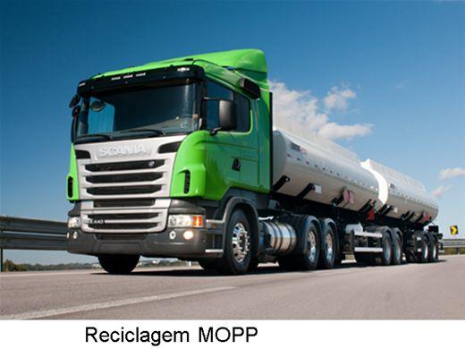 Curso Online de Reciclagem para Condutores de Veículos Perigosos - MOPP