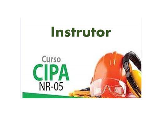 Curso Online de Formação de Instrutores de Treinamentos da CIPA