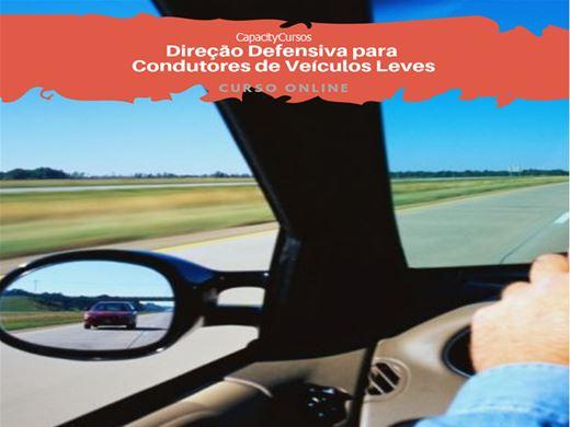 Curso Online de Direção Defensiva para Condutores de Veículos Leves