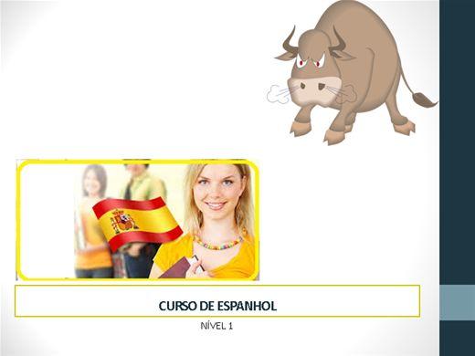 Curso Online de Curso de Espanhol 1