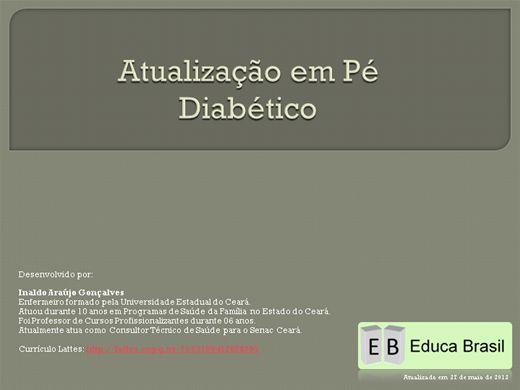 Curso Online de Atualização em Pé Diabético